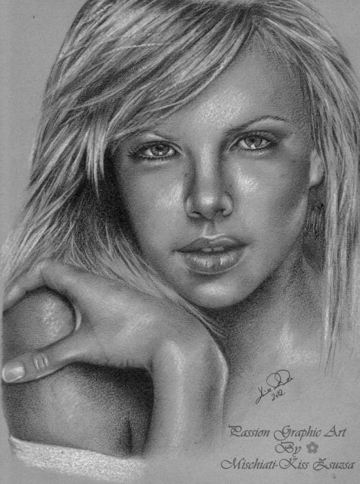 Charlize Theron by Ragazza
